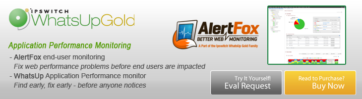 WhatsUp Gold Application Performance Monitoring Solutions