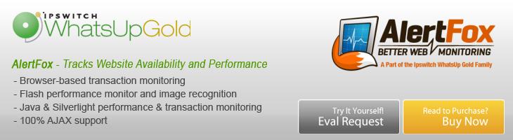 AlertFox End User Monitor