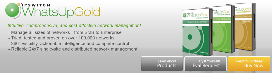 WhatsUp Gold Network Monitoring Software