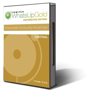 Picture of WhatsUp Gold Distributed Central - 25 Devices