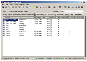 Picture of WhatsUp Event Alarm 25 Server-Syslog License